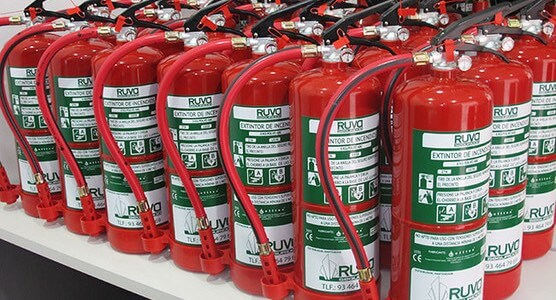 Venta de extintores en toda España