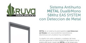 Sistema Antihurto AM modelo METAL